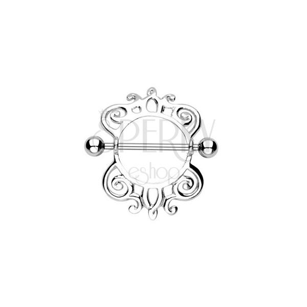 Brustwarzenpiercing, Schnecke - 2 Stück