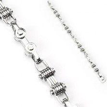 Chirurgenstahl Armband in Form einer Kette