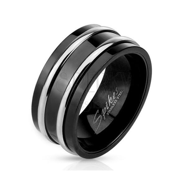 Silberschmuck schwarz farben