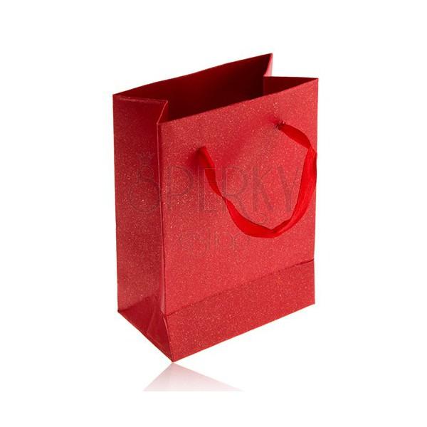 kleine geschenkt te aus papier perlmutt rot rote schleifen schmuck eshop de. Black Bedroom Furniture Sets. Home Design Ideas
