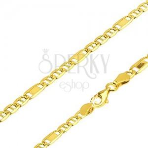 goldkette 585 glieder mit st bchen eins mit rechteck 550 mm schmuck eshop de. Black Bedroom Furniture Sets. Home Design Ideas