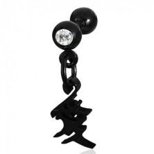 Labret - hängendes chinesisches Liebessymbol
