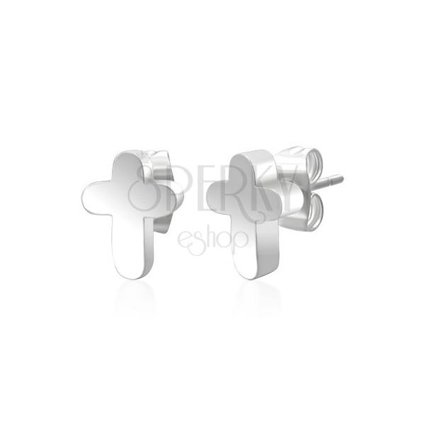 Ohrstecker Kreuze aus 316L Chirurgenstahl