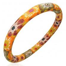Fimo Armband mit Herbstmotiv