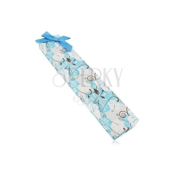 Geschenkschachtel für eine Kette oder ein Armband Hibiskus