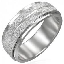 Drehbarer Ring mit matter Sandoberfläche