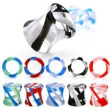 Sattelohrplug, UV Pyrexglas
